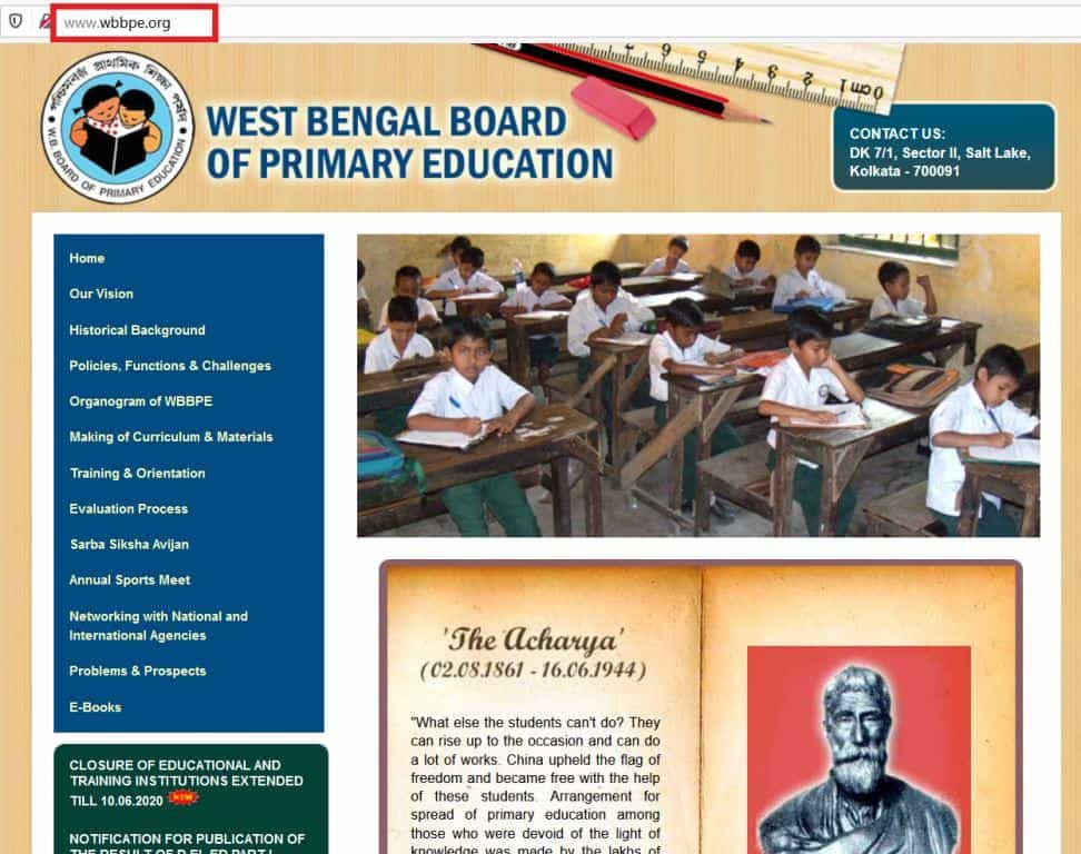 WB-TET-2020-WBBPE-Primary-TET-Notification-Advertisement-News