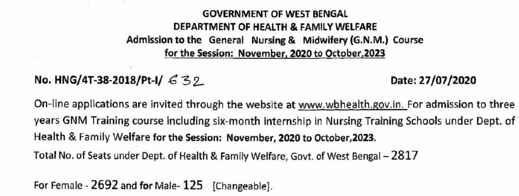 WB-GNM-Nursing-Admission-2020