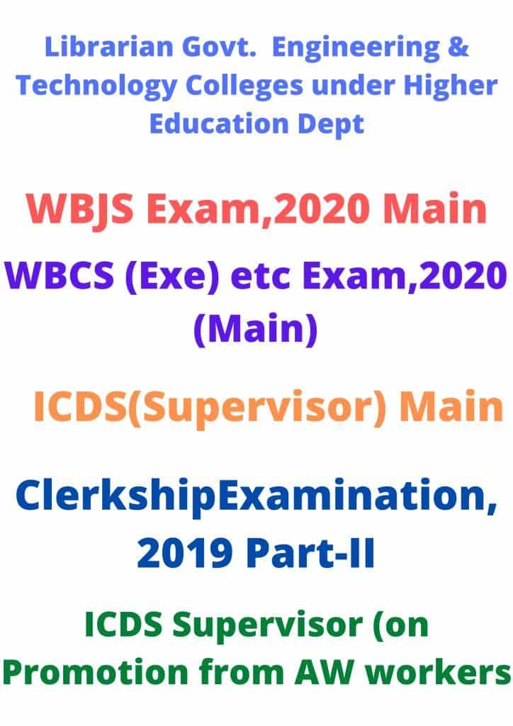 WBPSC-Revised-Exam-Date-2020-2021-Released