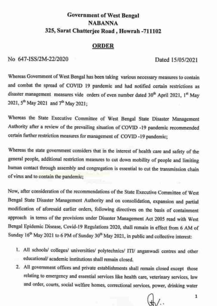 West_Bengal_lockdown_2021_notice