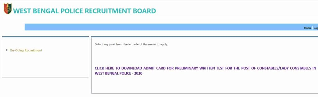 Wb_Police_Constable_Admit_Card